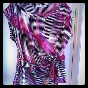 New York & Co Modern Blouse - EUC